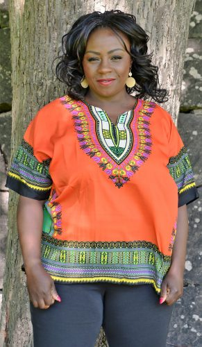orange dashiki tröja framsida 1 kongo