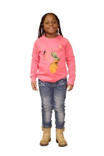 IMG_9662 barn college tröja rosa flicka fram